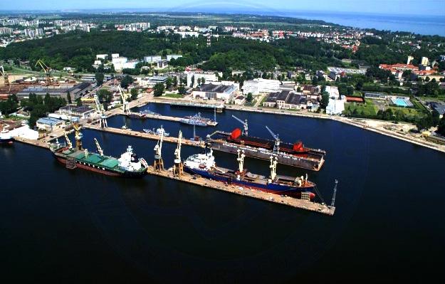 Gdynia Poland  City new picture : Naval shipyard Gdynia Poland